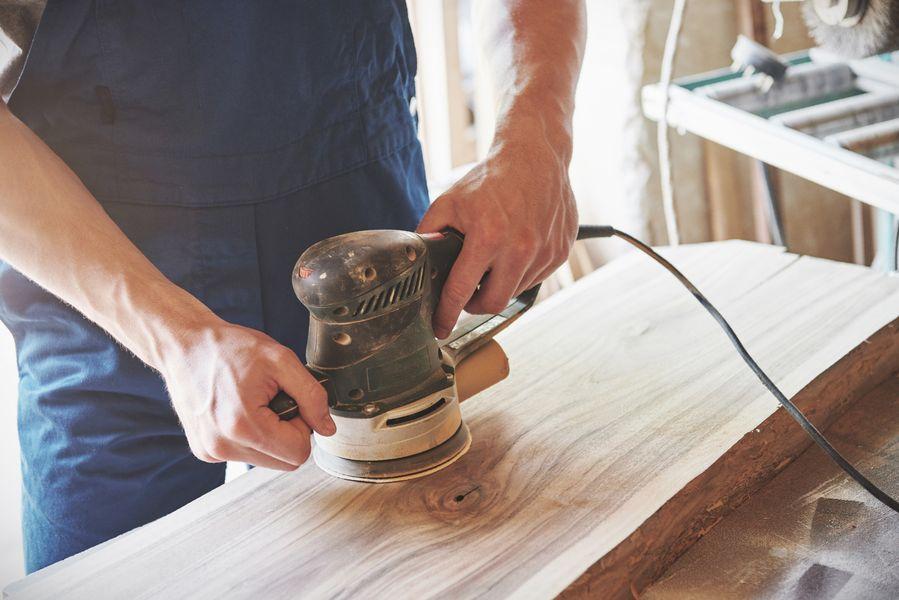 como hacer mesa de madera para jardin
