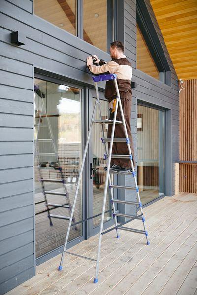 como revestir una pared con listones de madera