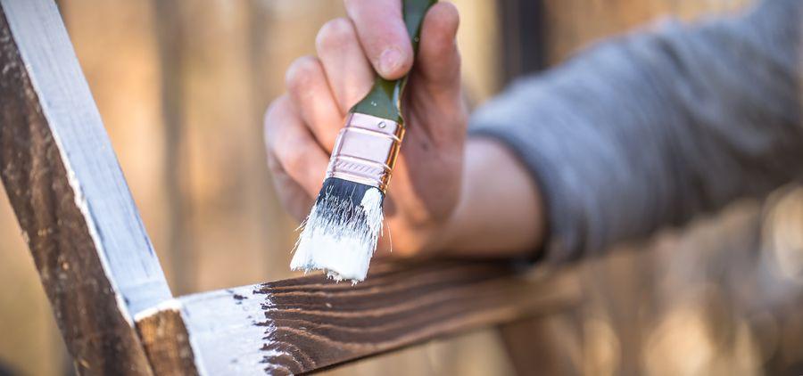 pintar madera sin lijar