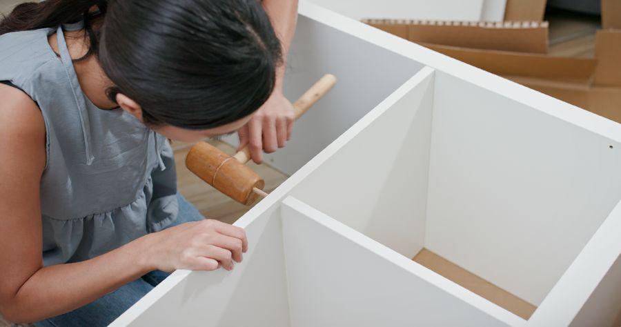 como hacer estantes de madera