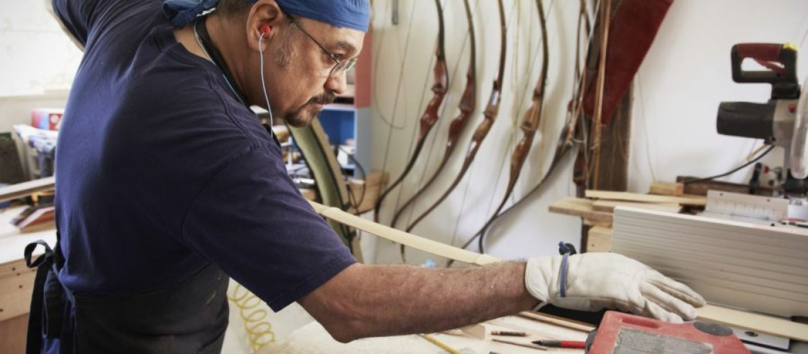 como hacer un arco de madera de fresno