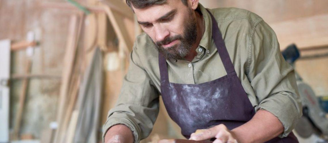 como lijar madera con lijadora