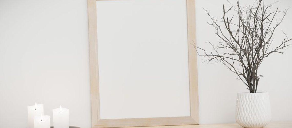 como hacer marco de madera para cuadro